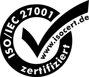 ISO 27001 Zertifiziert Logo