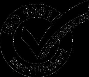 ISO 9001 Zertifiziert Logo
