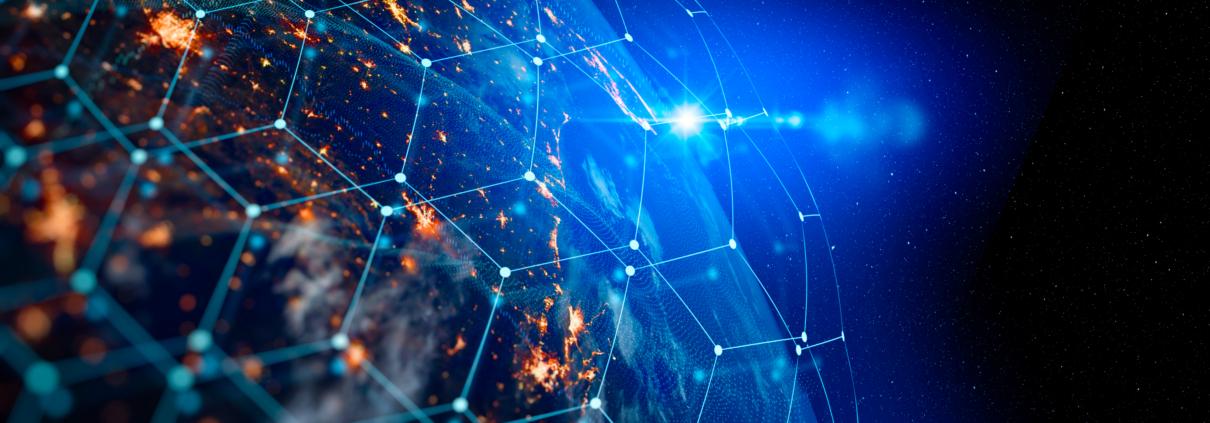 Banner vernetzte Welt