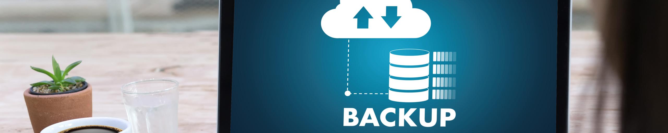 Headerbild Backup in der Cloud