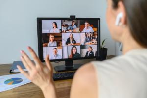 Online Teams Meeting - Titelbild