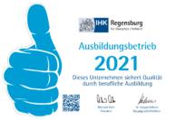 IHK Regensburg: Ausbildungsbetrieb 2021