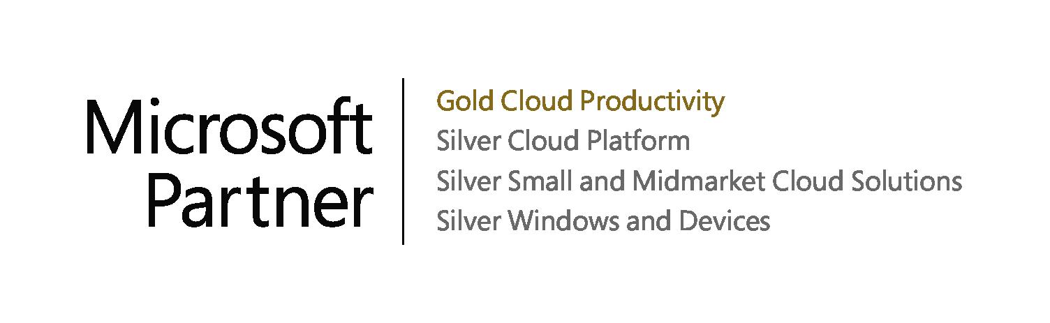 Microsoft Partner - Gold Cloud Productivity - Gold Partner Microsoft